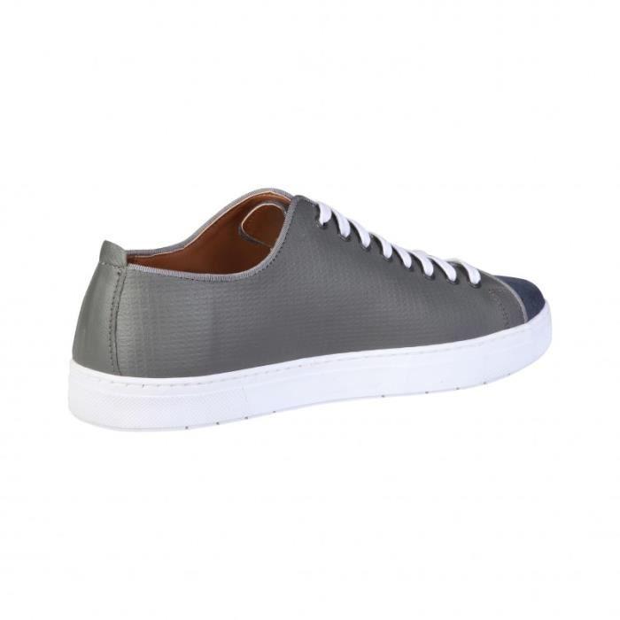 pour Cardin Homme Basket Pierre Pierre gris Sneakers Cardin x6w4S4qBO