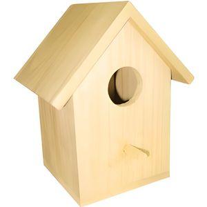 Nichoir oiseaux achat vente nichoir oiseaux pas cher for Support bois a decorer