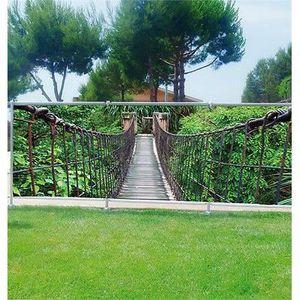 Brise vue imprimé, jardin, terrasse, balcon déco Bambous Occultation ...