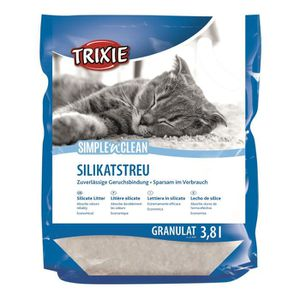 LITIÈRE SILICE - ARGILE TRIXIE Fresh'n'Easy Granules, 3,8 l pour chat