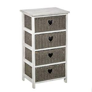 chiffonier 4 tiroirs achat vente chiffonier 4 tiroirs pas cher soldes d s le 10 janvier. Black Bedroom Furniture Sets. Home Design Ideas