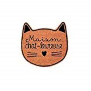 PAILLASSON Paillasson Coco - Maison chat-leureuse