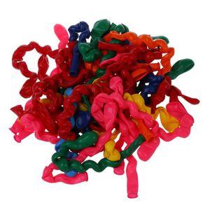 BALLON DÉCORATIF  Latex gonflables ballons longs spirale pour le Par