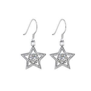 Boucles d oreilles pendantes cristaux swarovski achat - Boucle d oreille swarovski pas cher ...