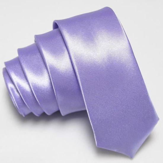 Cravate Satinée Brillante couleur Mauve clair Mauve - Achat / Vente ...