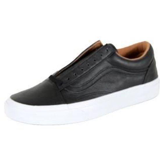 Vans U Era Premium Leather Noir   Noir - Achat / Vente basket