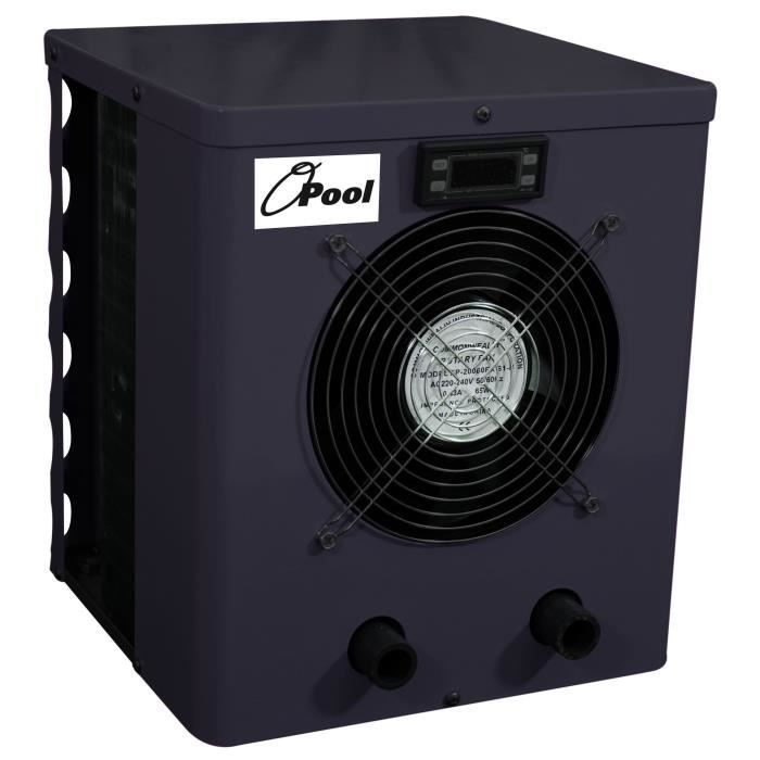 O'POOL Pompe à chaleur de piscine hors sol - Puissance 2,20 kW