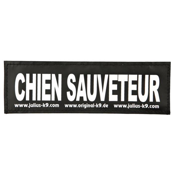 TRIXIE 2 Stickers Velcro Julius-K9 - L - Chien Sauveteur - Pour chien