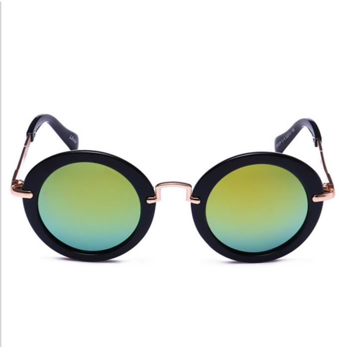 Lunettes de soleil Aviateur enfant - Pilote - verre effet miroir - Fashion  tendance c2c9540e75aa