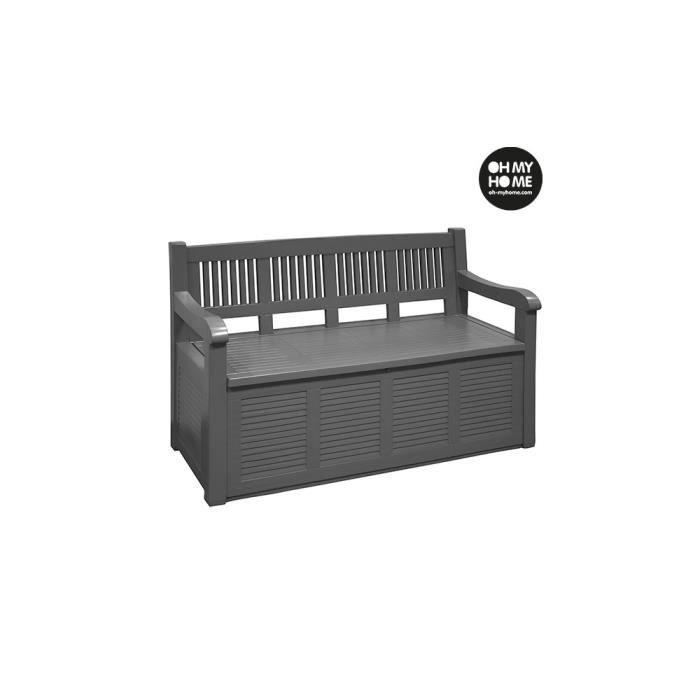 cheap banc coffre de jardin oh my home v with banquette coffre exterieur. Black Bedroom Furniture Sets. Home Design Ideas