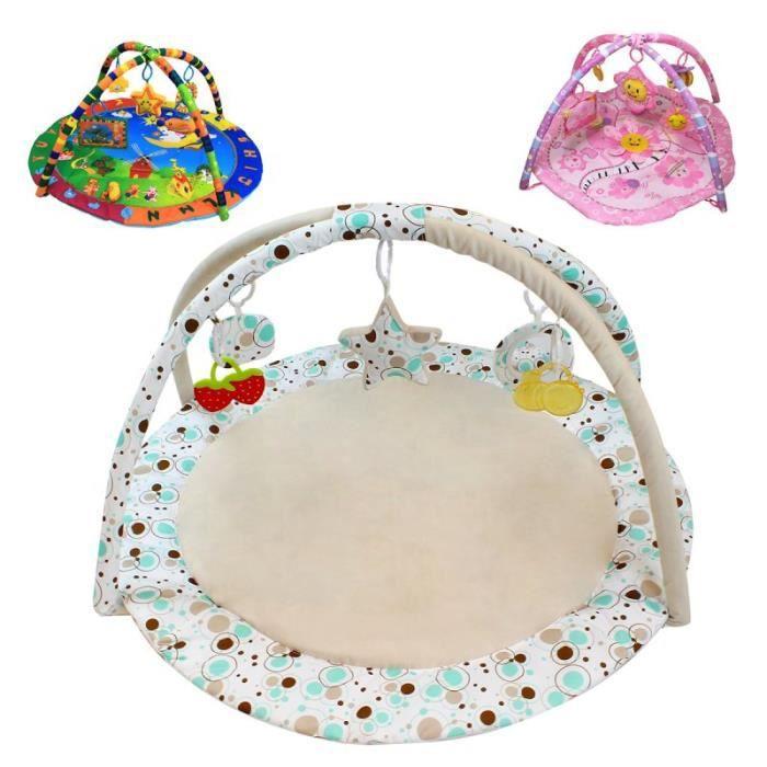 TAPIS ÉVEIL - AIRE BÉBÉ Tapis d'éveil bébé éducatif et musical + jouets -