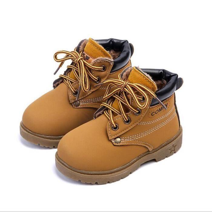 AFJ JEEP® Confortable Enfants Neige Bottes Pour Filles Garçons Bottes De Mode Fond Mou Filles Enfant Bottes Taille 21-30 2yrxTUsZaa