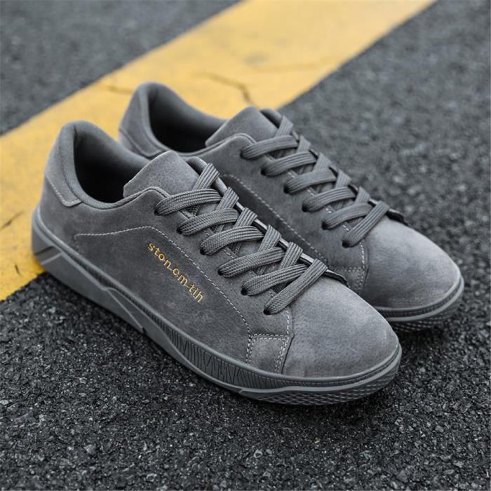 Hommes Sneakers Qualité Supérieure De Marque De Luxe Chaussures Plus De Couleur Poids LéGer Chaussures Respirant 39-44 mF0EMa8UO