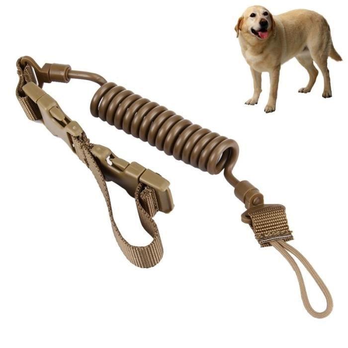 Crochet Mousqueton Laisse Chien 1.1m De Haute Qualité Dog Leash Daily Walking Brown