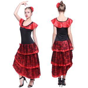 DÉGUISEMENT , PANOPLIE Costume de Deguisement Robe Flamenco Espagnole  Sev