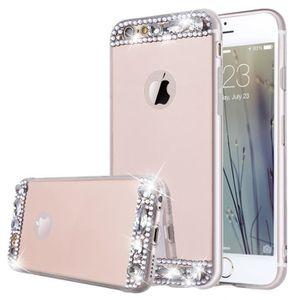 HOUSSE - ÉTUI Coque Miroir pour iPhone 7 Plus Étui Bling Cristal