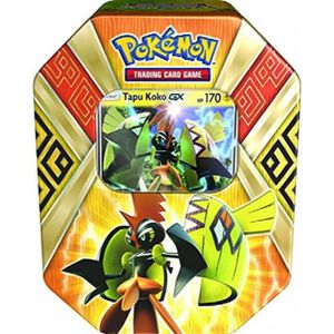 CARTE A COLLECTIONNER Legends Of Spring Alola Tin 2017. Assortiment DW3F