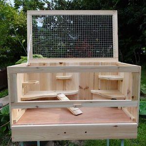 CLAPIER CLAPIER Bois de cage pour petit animal / cage à ha