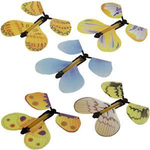 COUVRE-VOLANT 6495@ Papillon volant magique Transformer Cocoon D