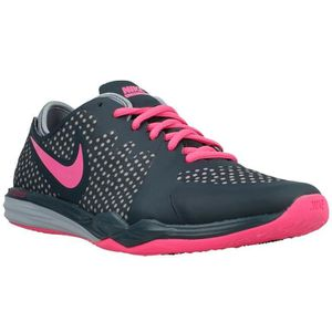 BASKET NIKE Chaussures femme Dual Fusion Pois - Gris / Ro