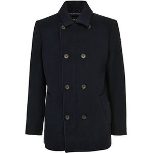 MANTEAU - CABAN Guess Manteau Caban Contemporary Bleu Marine