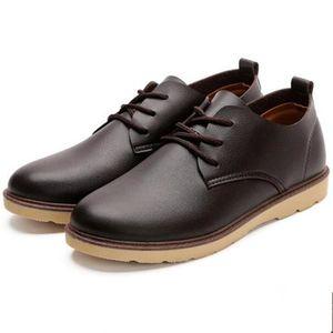 CUSSELEN Chaussure Hommes Antidérapant En Cuir Sneaker Nouvelle arrivee Homme résistantes à l'usure SneakersAdulte 8hxsqYdfbx