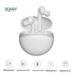 KIT BLUETOOTH TÉLÉPHONE Écouteurs Bluetooth,Bluetooth 5.0, longue durée de
