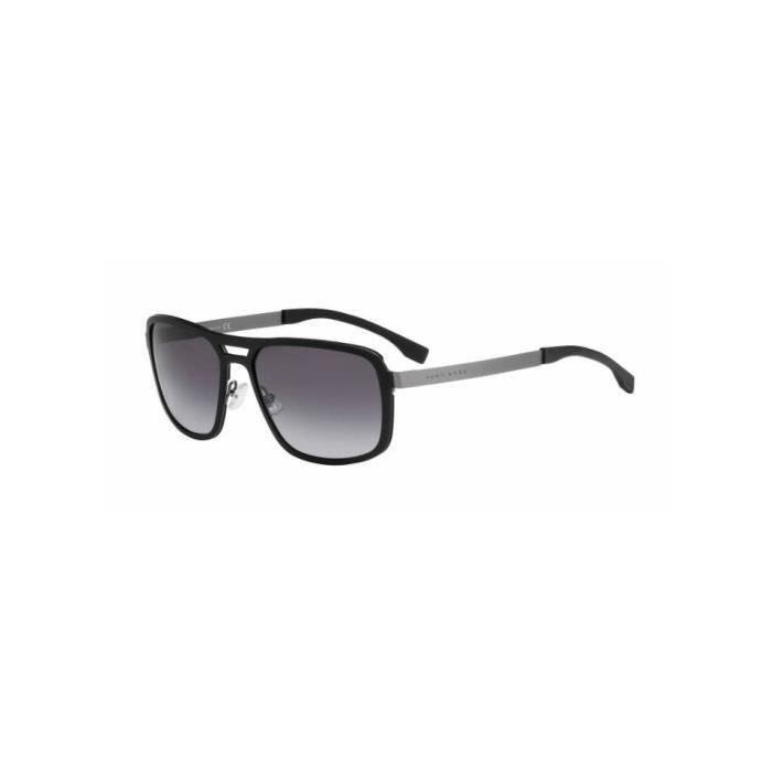 bffcd18fb5c071 Lunette de soleil BOSS 0724 S KDJ (HD) Noir - Achat   Vente lunettes ...