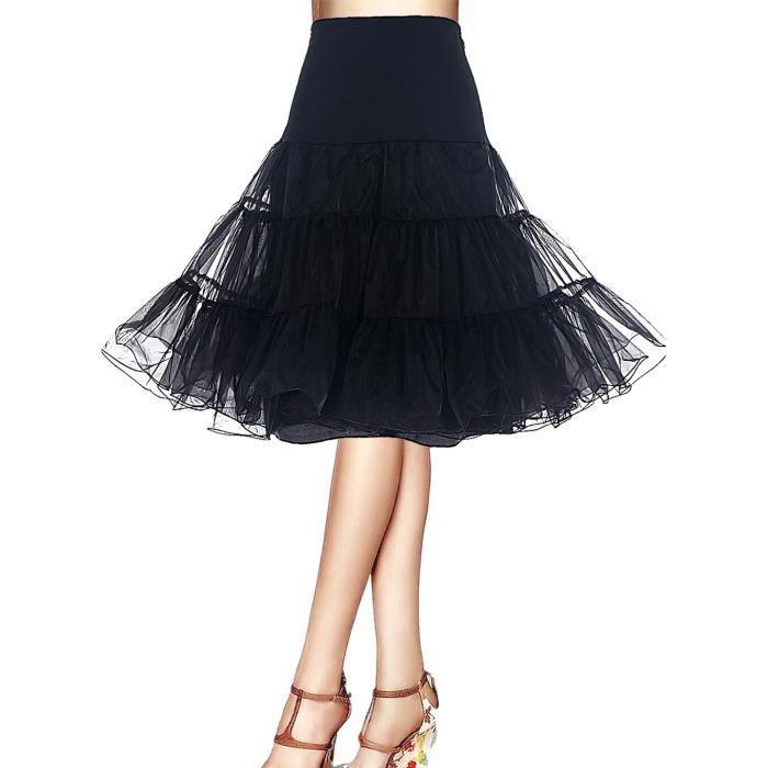Bbonlinedress Jupon femme style année 50 Jupon Rockabilly 4 tailles ... 30a5437b021d