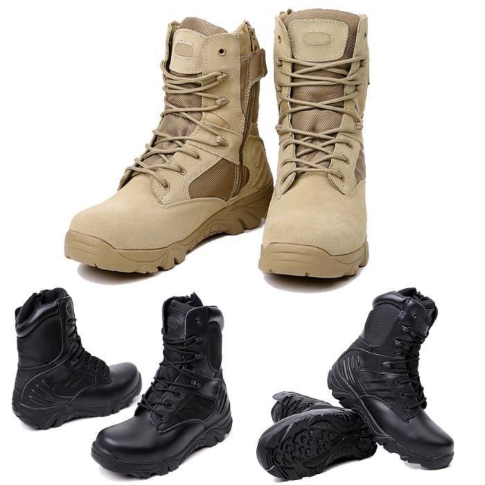 XZ512B5XZ512B5Hot armée Chaussures Hommes l'armée américaine tactique Confort cuir combat Bottes de cheville militaire 3HoiWSmGn