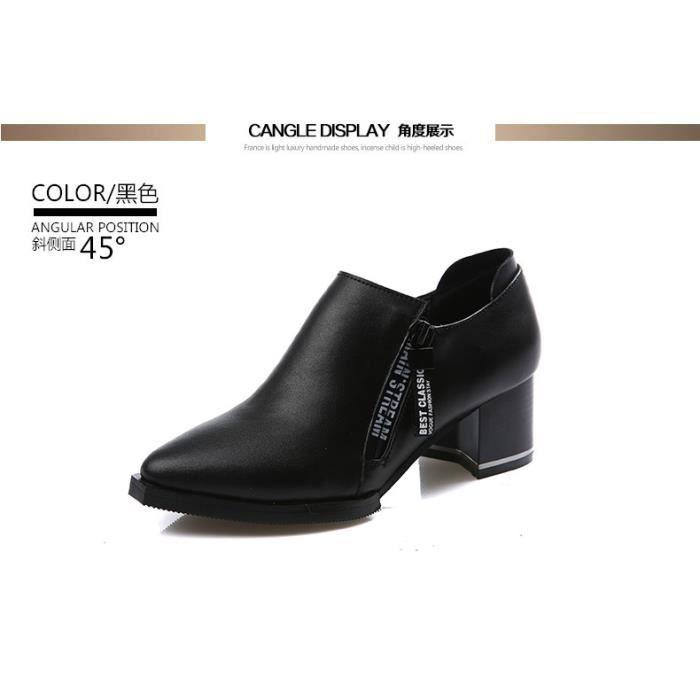 Bottes Femmes Hiver Longues Bottes Pour Femmes élégant Confortable Plates Haute Women Shoes Première couche de
