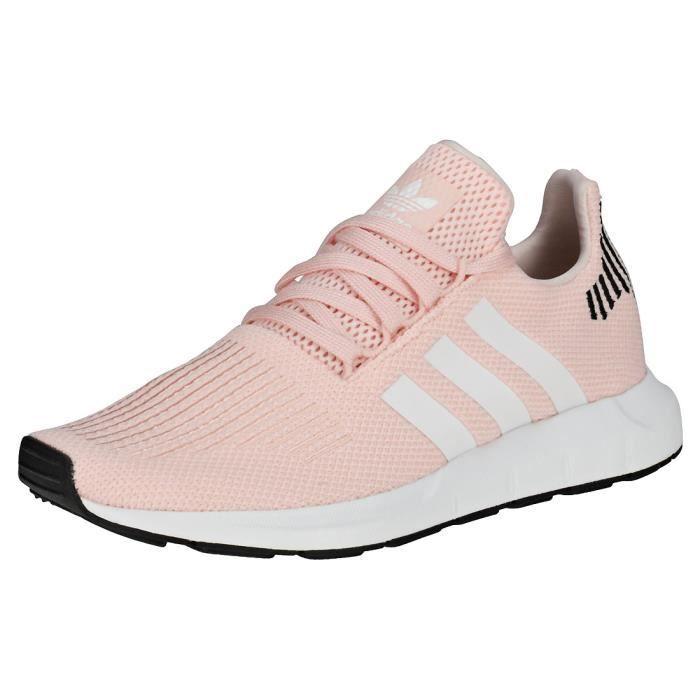 adidas Swift Run W Femme Baskets Rose clair - 8 UK