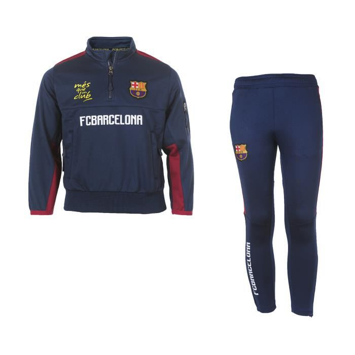 425f1fb364 Survêtement Barça Fan Bleu-Rouge Junior - Prix pas cher - Cdiscount
