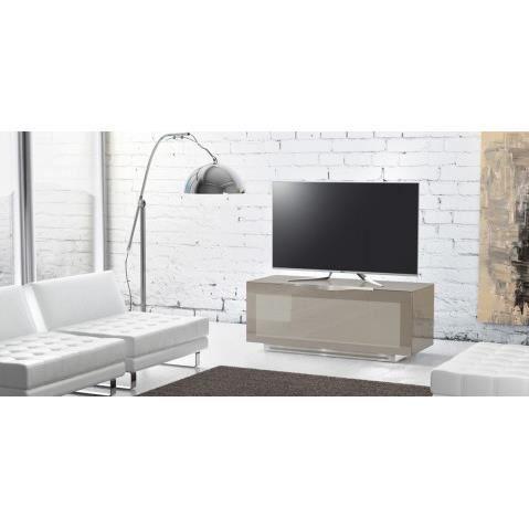 meuble tv meuble tv design munari 1 portes en verre trempe d - Meuble Tv Design Italien Munari