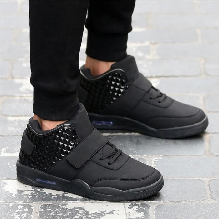 chaussures montantes Mode Chaussure Homme Basket Homme Skate Shoes CiXqD3gyK