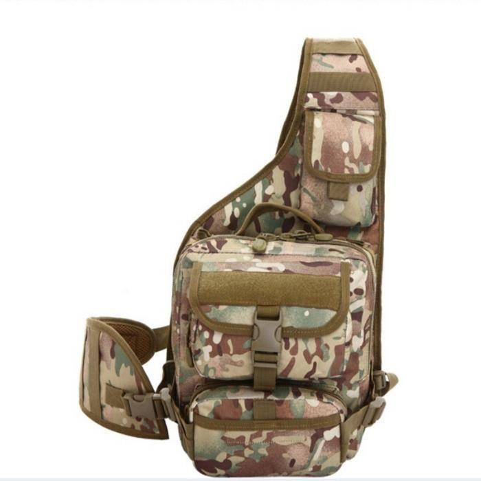 Demeuble-3357 35L Sacs de sport de loisirs étanches Sacs à main dorigine tactique Sacs 3P épaule Sac camouflage