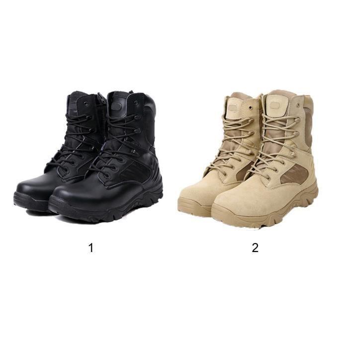 Chaussures Ajvani noires Militaires homme Ua9yFvVi
