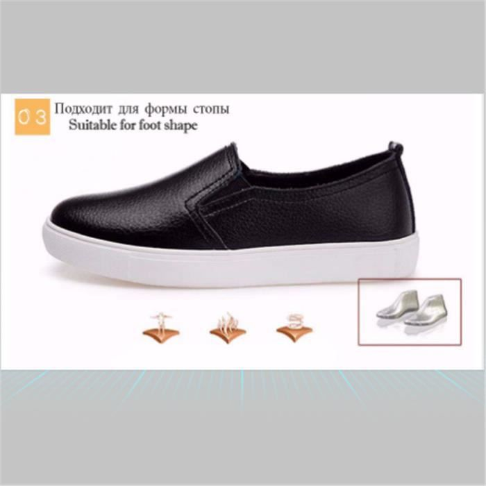 Chaussures Femmes ete Loafer Ultra Leger Chaussures YLG-XZ052Blanc37 6R7miGX