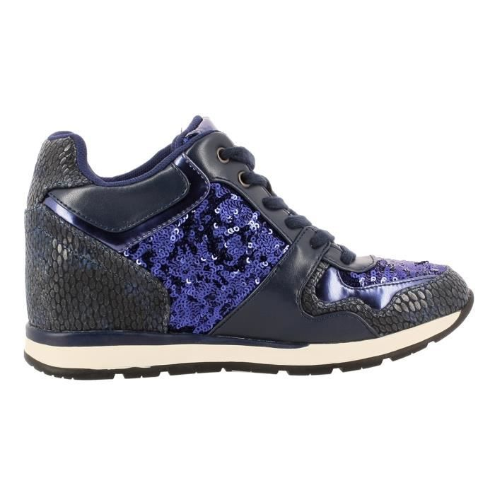 Fllcy3 Guess Paillettes Laceyy Femme Baskets wIFO6