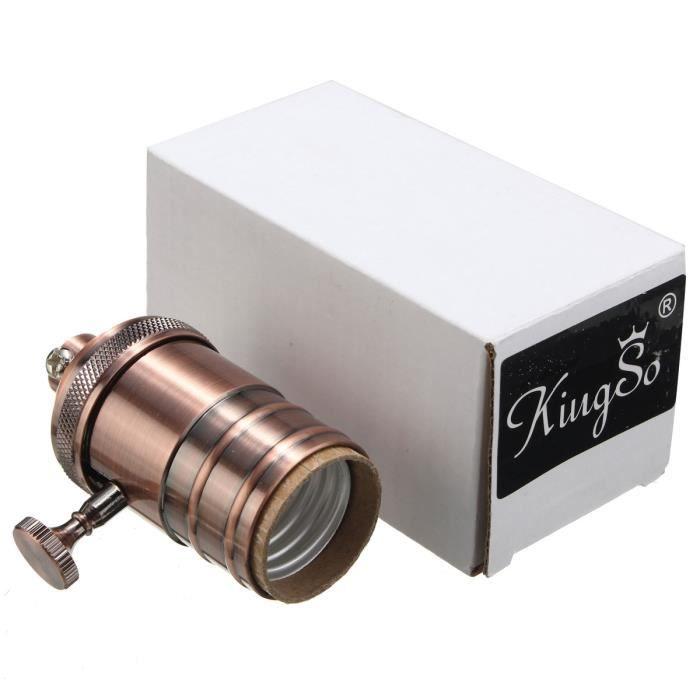 C E27 À Visser Tempsa Chevet Type Ampoule Lampe Pour Edison Suspension Douille De q7dqwIRg