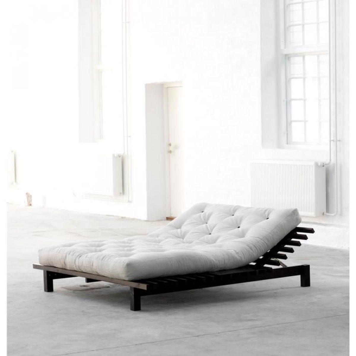 lit futon. Black Bedroom Furniture Sets. Home Design Ideas