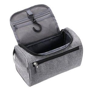 TROUSSE DE TOILETTE  Trousse de toilette cube avec crochet et éponge ép