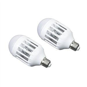 ANTI-MOUSTIQUE 2 PCS Bug Zapper Ampoule Électronique Lampe de mou