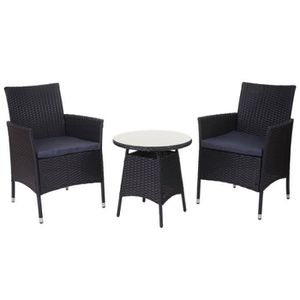 Salon de jardin avec fauteuil - Achat / Vente pas cher