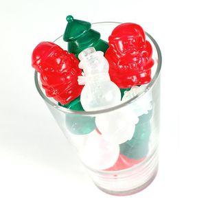 BAC - SAC A GLACONS Glaçons de Noel réutilisables - Par 12