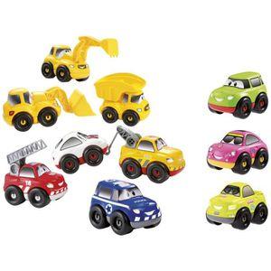 ASSEMBLAGE CONSTRUCTION ABRICK Coffret 7 Fast Car + 3 gratuites