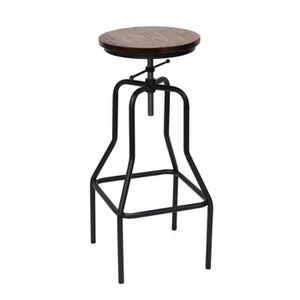 Chaise haute de cuisine reglable en hauteur achat - Tabouret cuisine reglable hauteur ...