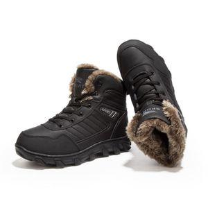BOTTINE Bottines homme Boots de neige Plus velours hiver c