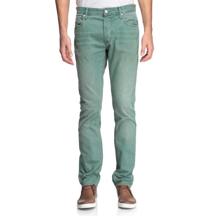 f7d1d8dcd8b70 JACK   JONES Jean Homme Vert d eau washed - Achat   Vente jeans ...