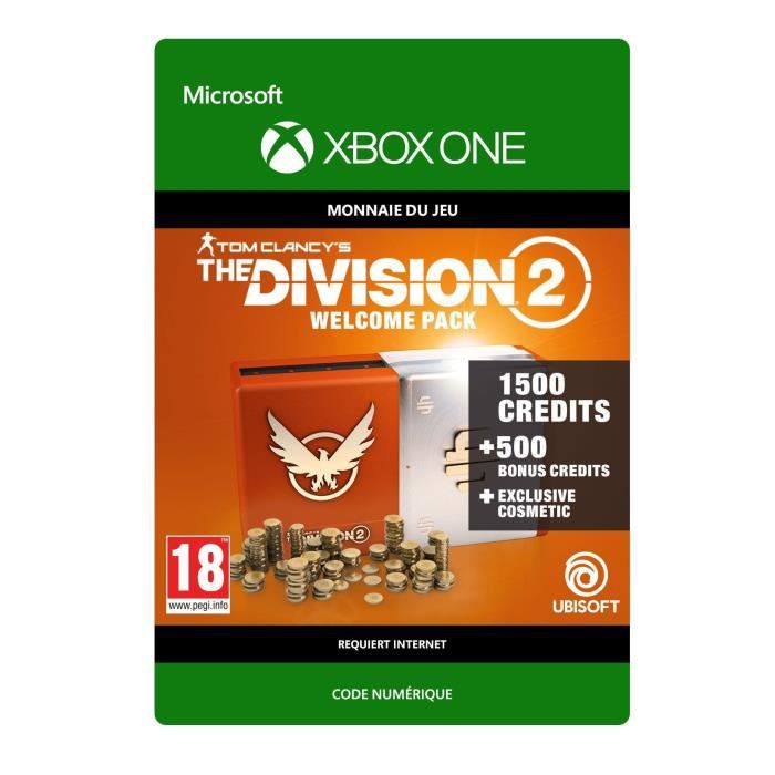 DLC Tom Clancy's The Division 2 : Welcome Pack pour Xbox One